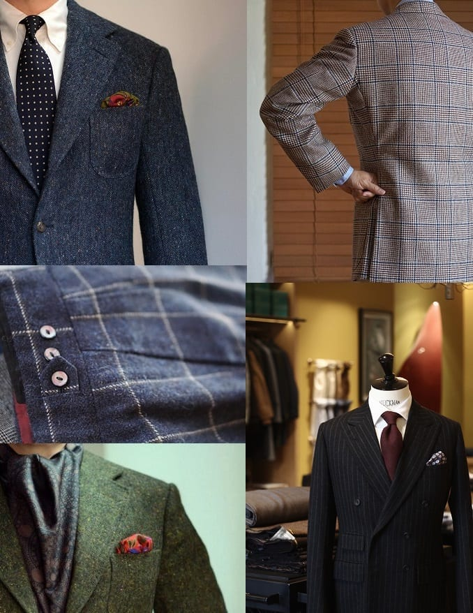 creating your own suit london