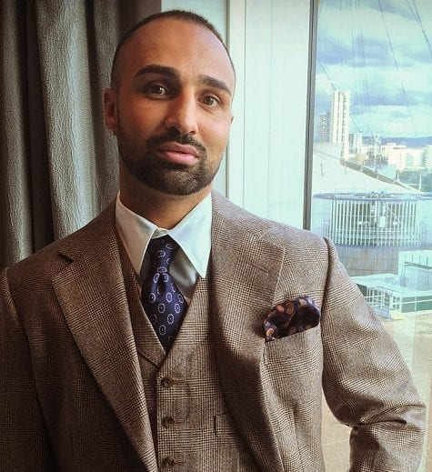 paulie malignaggi steed tailors suit london